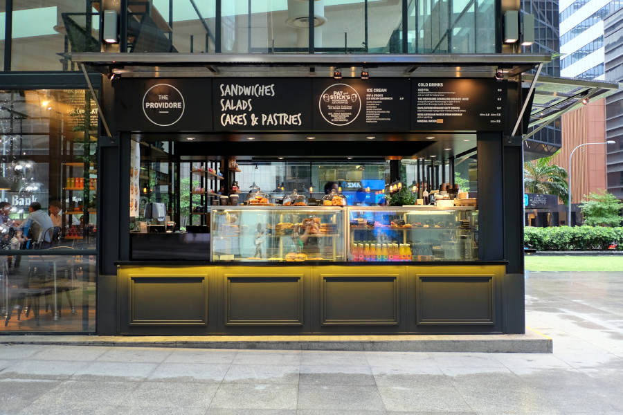 Our cafe in the heart of Raffles Place. Don't miss out on great coffee and gorgeous food.