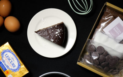 New in: Our Flourless Chocolate Cake Baking Kits!
