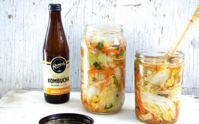 Remedy Kombucha Kimchi