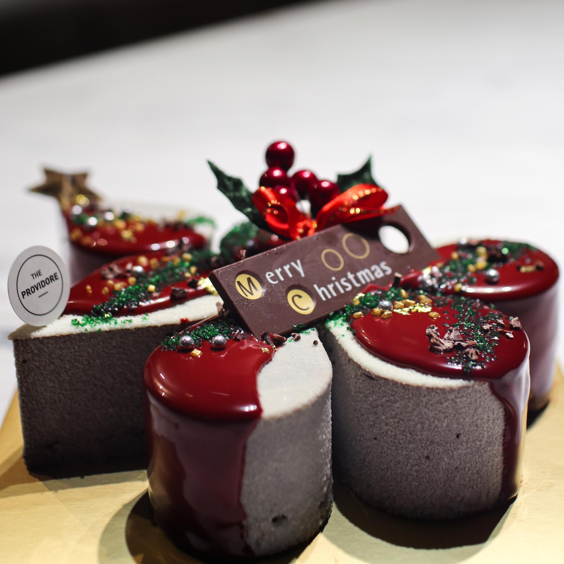 Christmas Tuber Cake