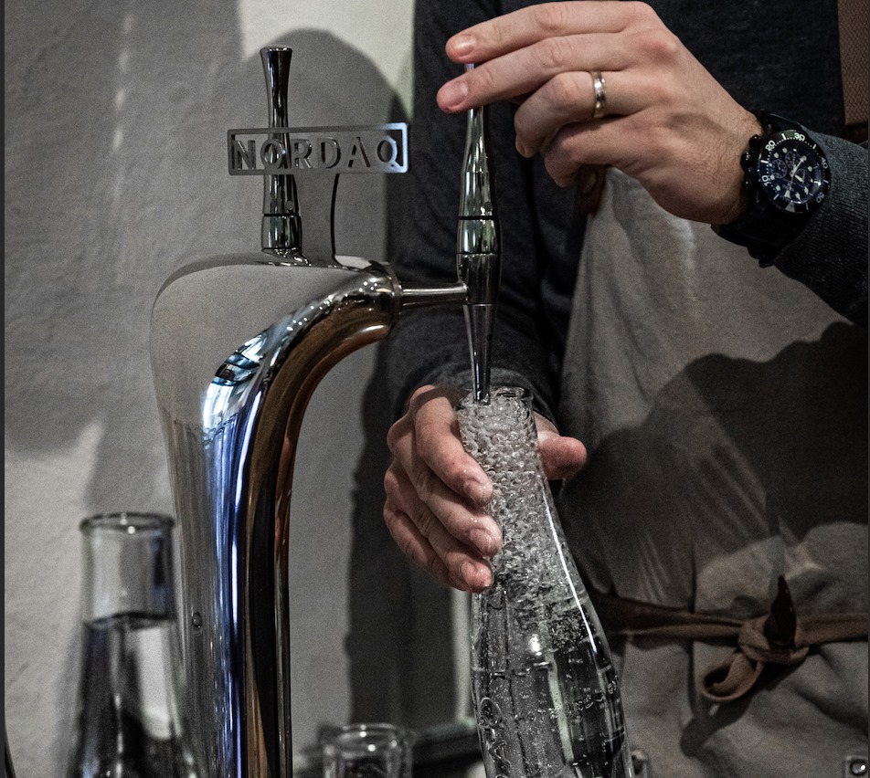 Sustainable water at The Providore